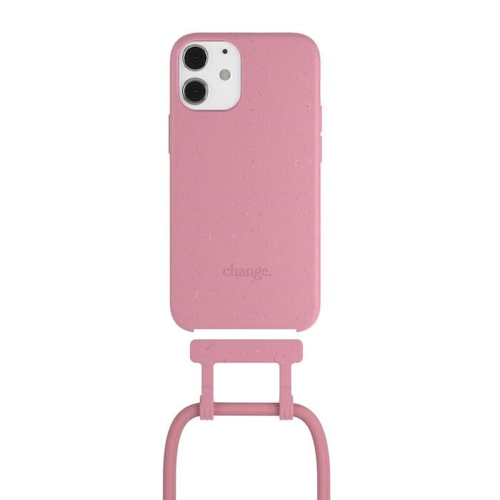 Necklace BioCase - iPhone 12 Mini - Pink