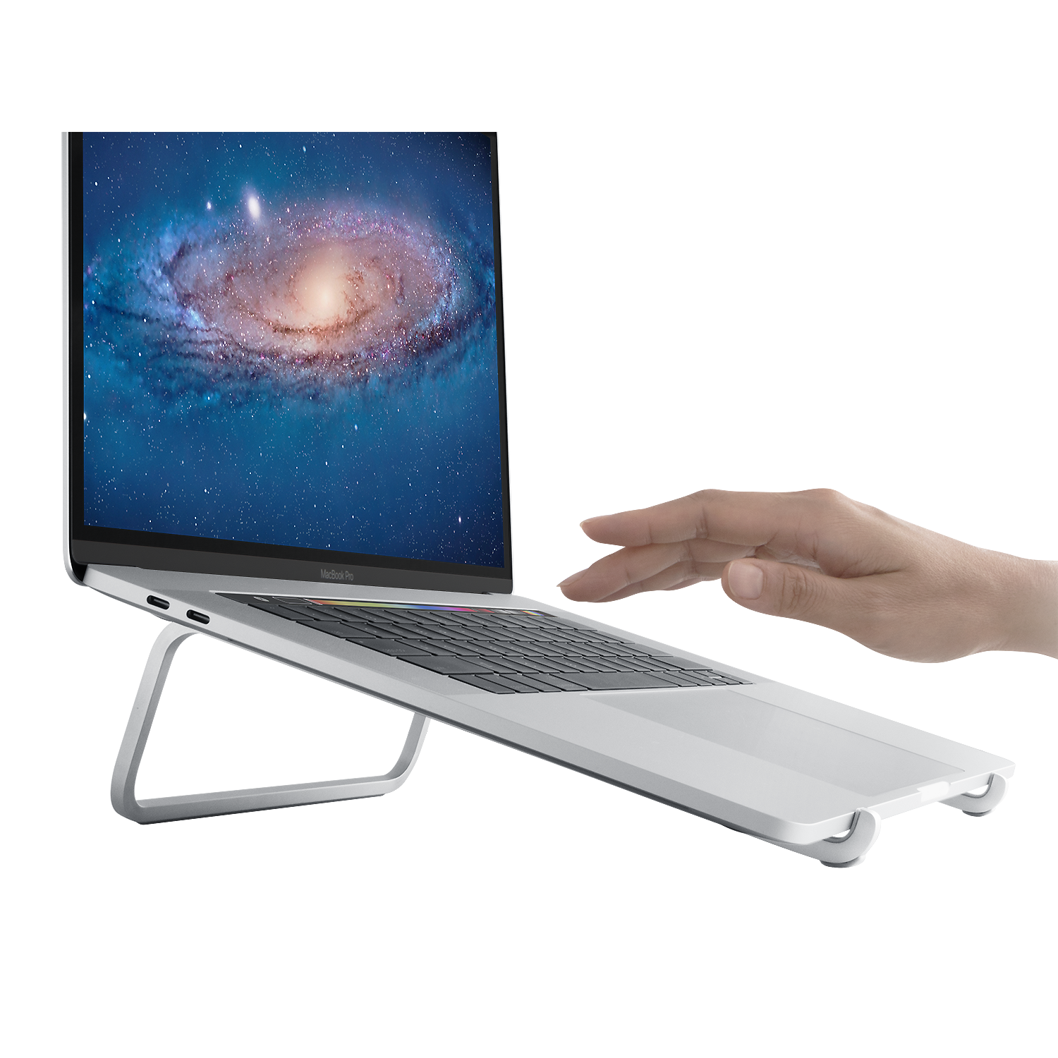 mBar Laptop Stand - Silver