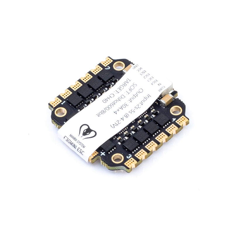 ESC-MAMBA F30MINI 2-5s 4 in 1 BLHeli_S Dshot600 Electronic Speed Controller