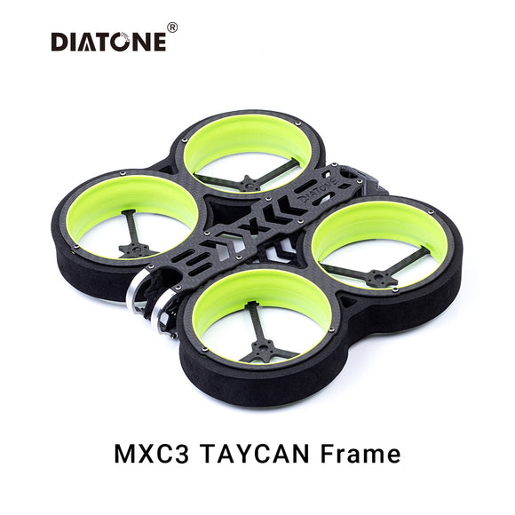 DIATONE MXC TAYCAN Duct 3 inch Cinewhoop FPV Drone Frame Edition Kit