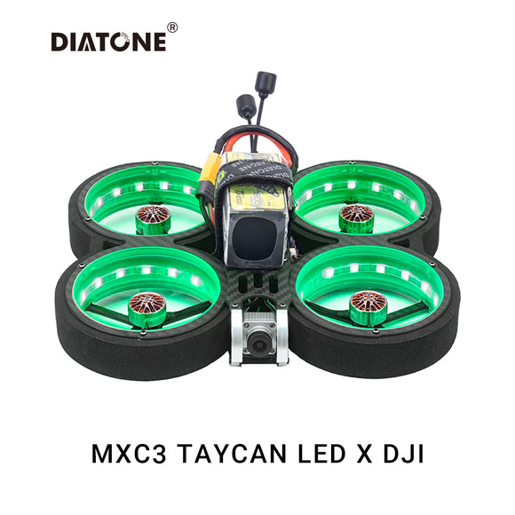DIATONE MXC TAYCAN SW2812 LED-Duct 3inch Freestyle FPV Drone DJI Air Unit
