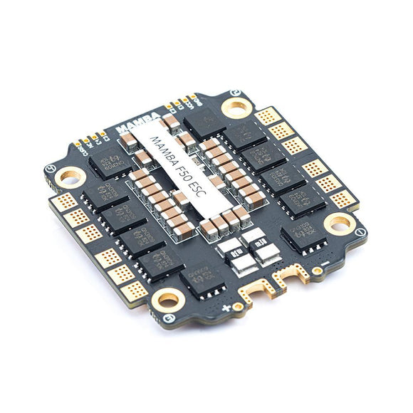 Diatone MAMBA F50 Dshot300/600 4IN1 ESC 50A 6S 30*30mm - Electronic System
