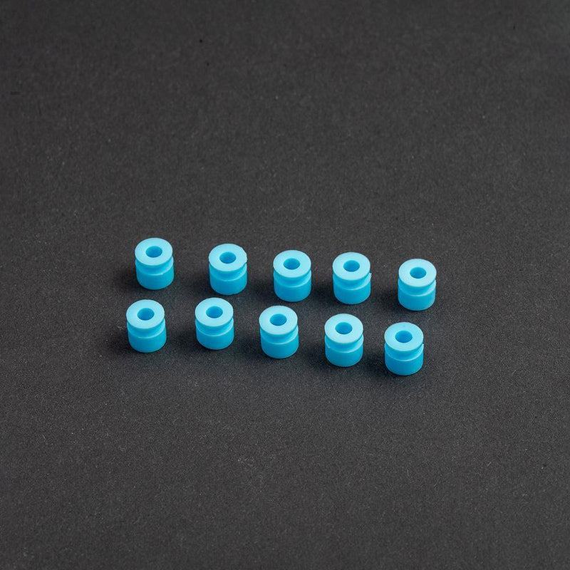 Mamba Stack Damping Acc -Silicone Rings/Standoff - M2 FC damping silicone Standoff blue - Accessories