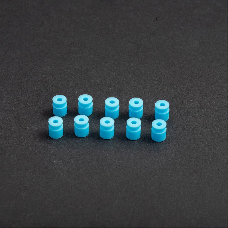 Mamba Stack Damping Acc -Silicone Rings/Standoff - M3 FC damping silicone Standoff blue - Accessories