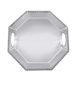 Pearled Octagonal Tray