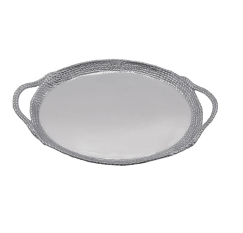 Rope Oval Cocktail Tray