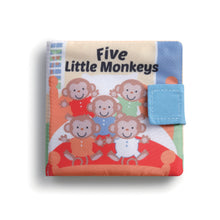 Load image into Gallery viewer, Five Little Monkeys Puppet Book