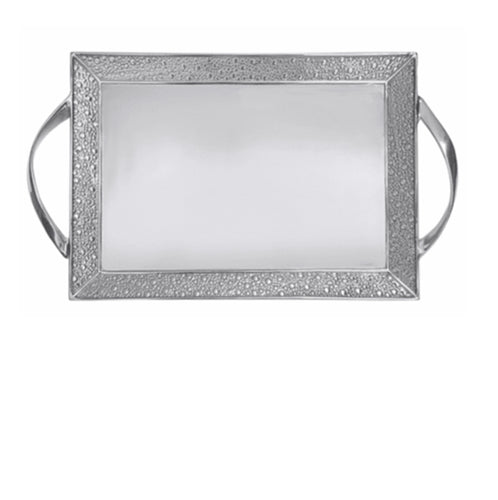 Textura Large Handled Tray