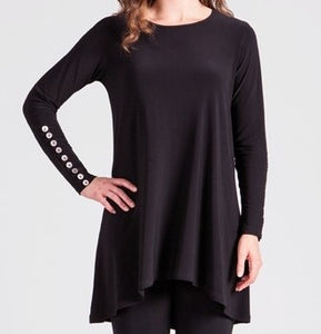 Nudiva Tunic With Metal Buttons