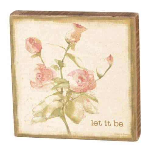 Let It Be Box Sign