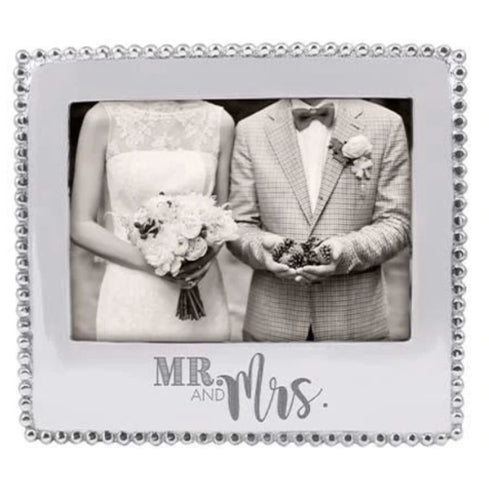 Mr & Mrs Beaded Statement Frame
