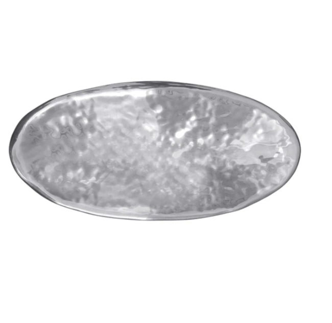 Shimmer Oval Centerpiece Bowl