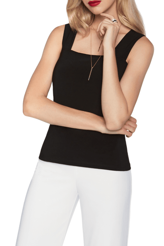 Essential Short Jersey Black Cami