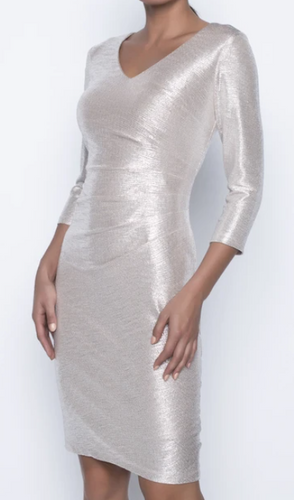 Shimmering Champagne Dress