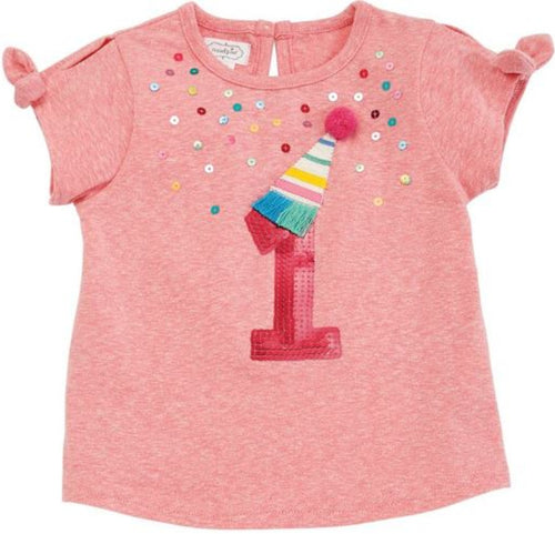 Girl First Birthday Tee