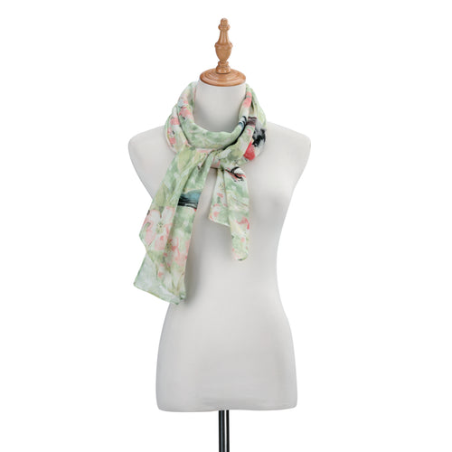 SW Rectangle Scarf- Robin Sparrow