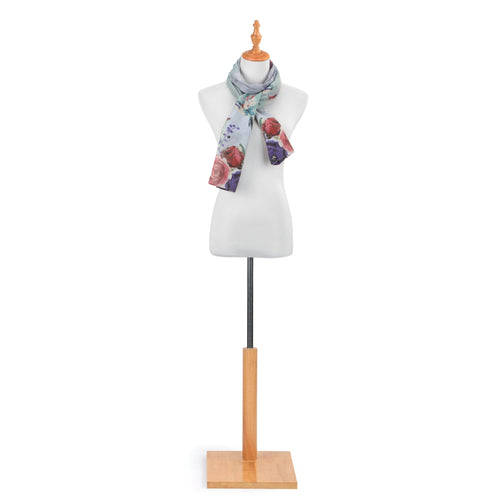 DS Rectangle Scarf- Hummingbird