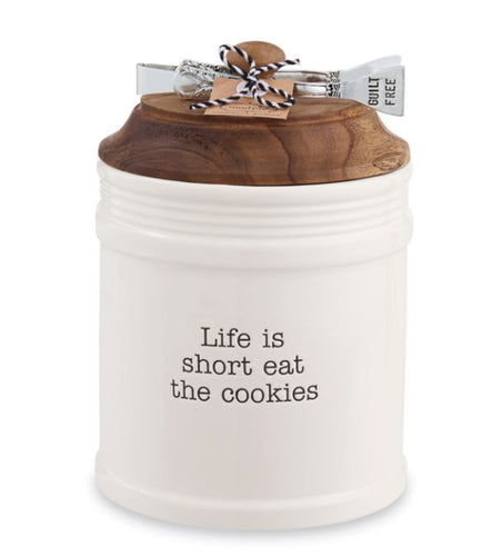 Eat Cookies Jar