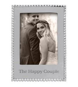 The Happy Couple Beaded Frame