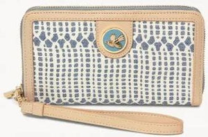 Linen-and-Leather Yacht Club 449 Wallet