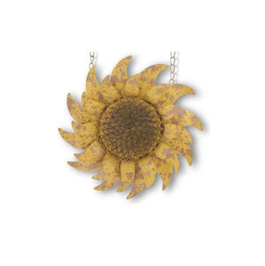 Distressed Golden Sunflower Sign