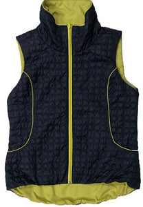 Zip Front Quilted Packable Vest