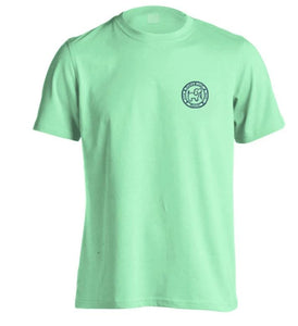 Puppie Love Short Sleeve I Dig the Beach - Mint