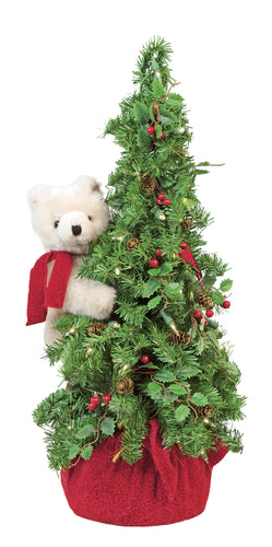 Christmas Tree Polar Bear