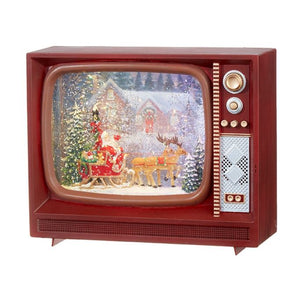 Santa and Reindeer Musical TV