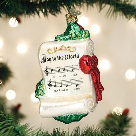 Old World Christmas- Joy to the World Ornament