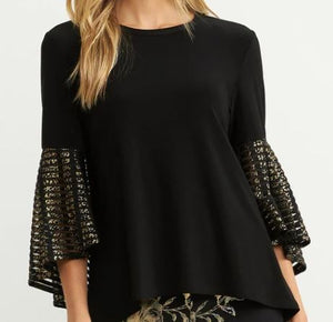 Mesh Sleeve Top