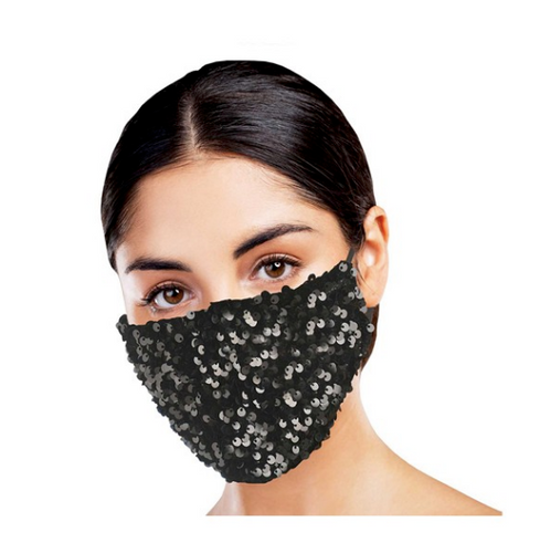 Snoozies Black Dazzle Face Mask
