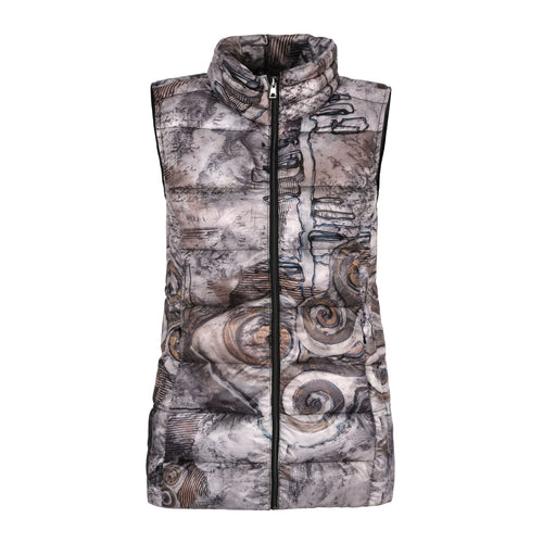 Always In Motion Abstract Art Long Vest