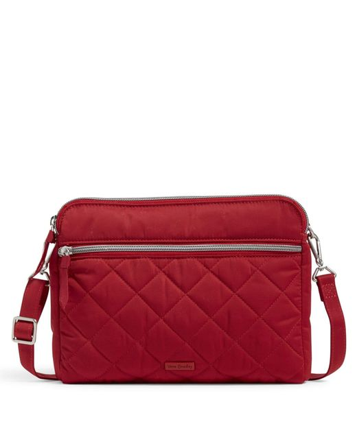 Vera Triple Compartment Crossbody