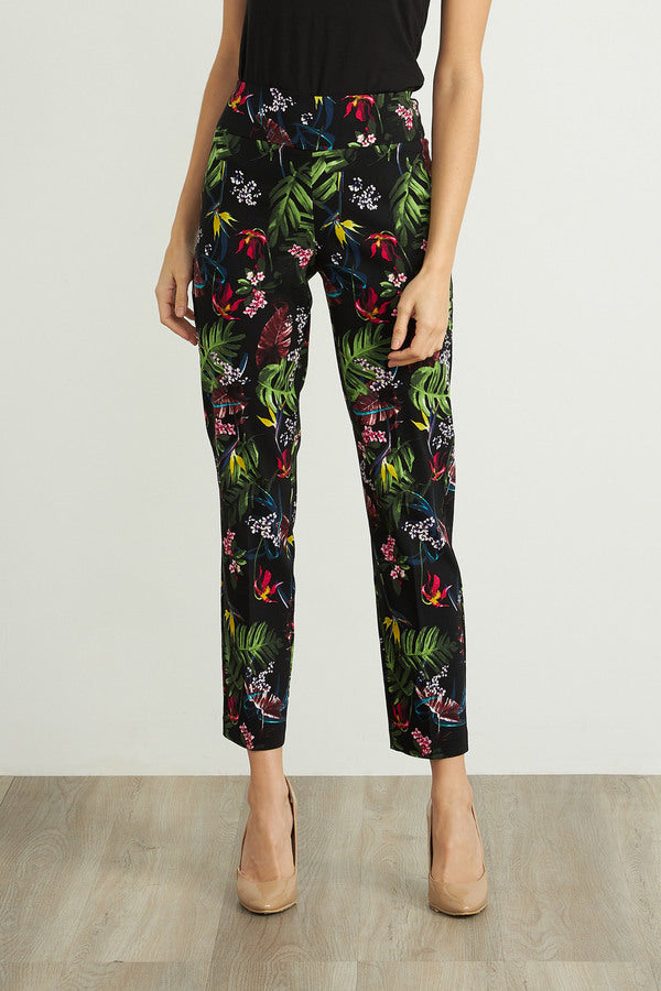 Tropical Print Pants