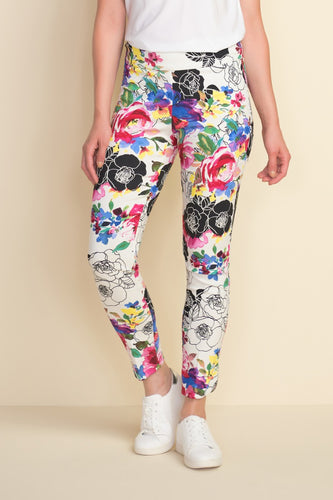 Graphic Floral Pant