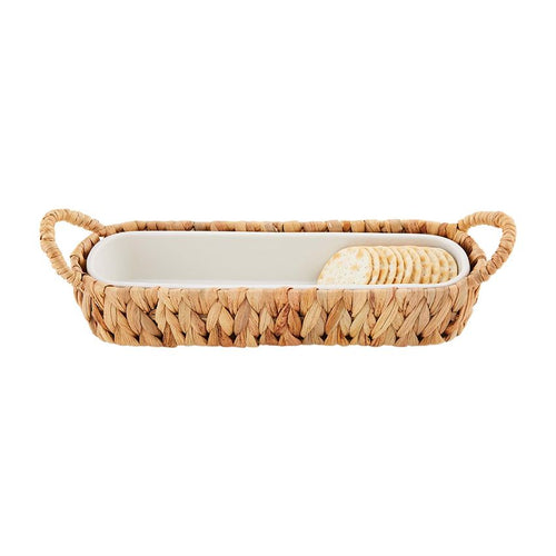 Hyacinth Cracker Dish Set