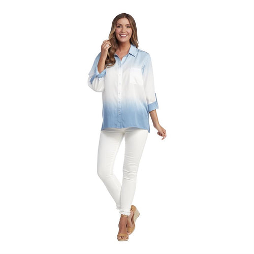 Dip Dye Boyfriend Button Down