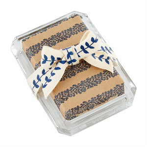 Dotted Stripe Soap Set