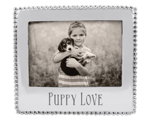Puppy Love Beaded 5x7 Statement Frame