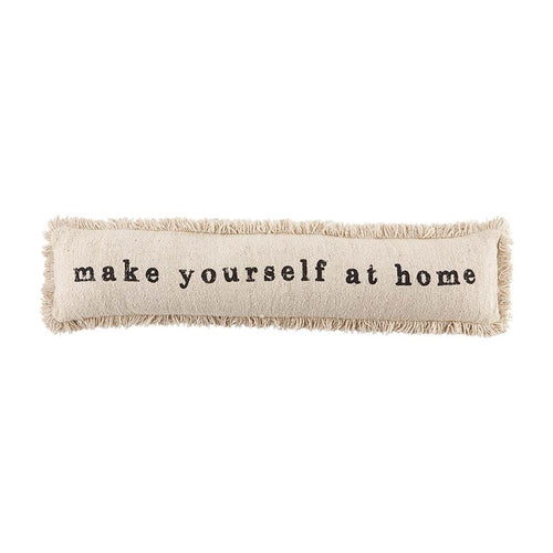 Make Yourself at Home Skinny Pillow