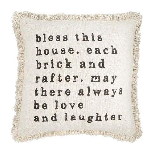 House Fringe Pillows