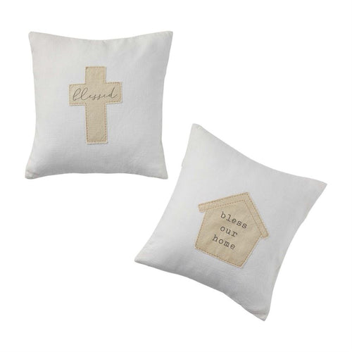 Blessed Applique Pillows