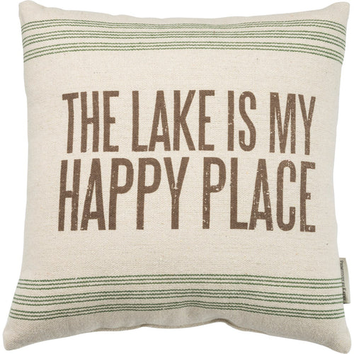 Pillow - Lake Happy Place