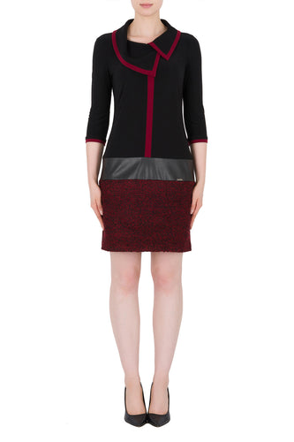 Statement Colorblock Sheath Dress