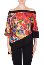 Load image into Gallery viewer, Vivid Color Off Shoulder Bias Hem Top