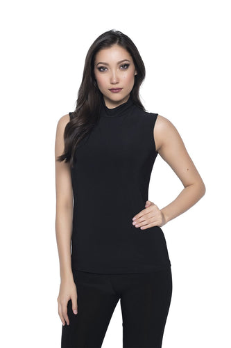 Sleek Turtle Neck Tank Top
