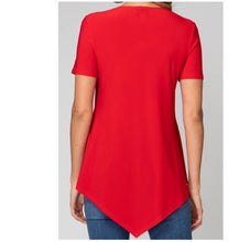 Load image into Gallery viewer, Casual Fit V Neck Button Closure Blouse