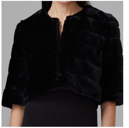 Black Formal Bolero Jacket