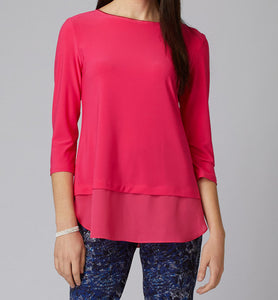 Layered Square Cut Panel Top